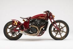 80c3dd7a9 Custom builder and racer Roland Sands brings his personal brand of funk to  this killer Indian Scout, blending inspirations from hill climbing, flat  track, ...