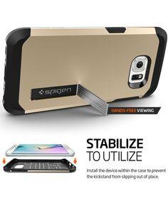 Spigen Tough Armor Case Samsung Galaxy S6 Edge Champagne Gold