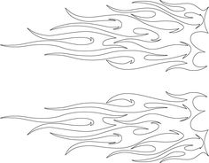 tribal flames tattoo pattern for 'flame spread of bamboo flooring'