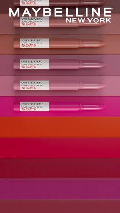 Flawless Makeup, Lip Makeup, Superstay Maybelline, Lipsticks, Yorkie, Lip Colors, Venus, Makeup Ideas, Make Up