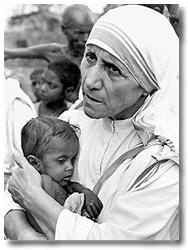 Be faithful in smalls things, because it is in them that your strength lies. Mother Teresa