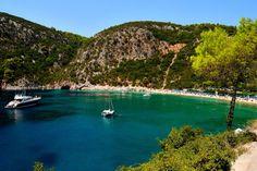 Skopelos Island, Greece #funfreedomfulfillment #travelprenuer #holiday #greece
