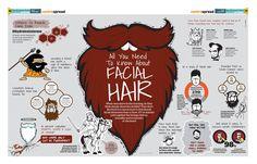 Facial Hair Infographic