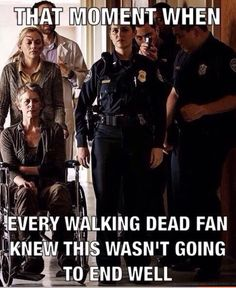 I cried all the way to the end of the episode after the episode where she died.... RIP Beth...