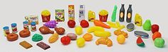 Toy Foods - 48 Piece Play Food Assortment -- See this great product.