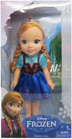 Disney Frozen Toddler Dolls Anna
