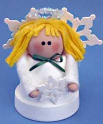 Clay Pot Crafts - Sweet Snow Angel