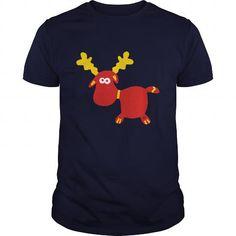 Moose reindeer ren elk Rudolph Winter Christmas