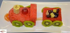 Watermelon Train This has got to be one of my favourite fun food, party centrepieces. I have made many watermelon trains and am still rapt b...
