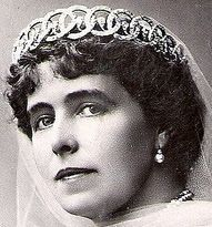 Tiara Mania: Diamond Loop Tiara worn by Queen Marie of Romania