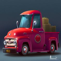 Cars on behance cars characters, truck art, game props, car drawings, prop design Prop Design, Game Design, Game Concept Art, Concept Cars, Low Poly Car, Mini Car, Cars Characters, Cars 1, Car Illustration