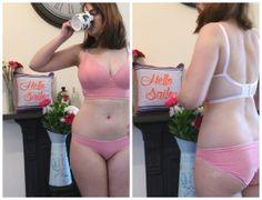 Watson longline bra and briefs