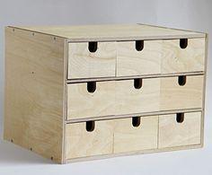 ikea fira birch wooden storage chest box with 5 drawers wood desktop organizer birch drawers. Black Bedroom Furniture Sets. Home Design Ideas