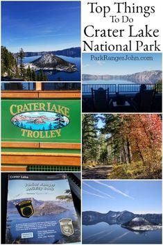 Things to do at Crater Lake National Park! Things to do Crater Lake National Park – Park Ranger John Crater Lake Map, Crater Lake Lodge, Crater Lake Oregon, Crater Lake National Park, Crater Lake Camping, National Park Patches, National Parks Map, National Park Posters, Oregon Travel