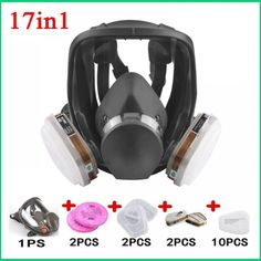 Safety Respirator 6800 Gas Mask Full Face //Price: $14.53 & FREE Shipping // #nails #shop #design