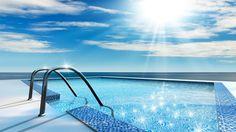 Escaleras de piscinas cómodas y seguras