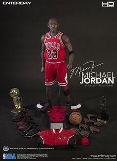 Enterbay HD Masterpiece Michael Jordan 1/4 Scale