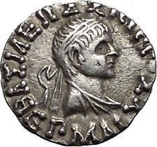 HERMAIOS 105BC Indo Greek Kingdom in India Ancient Silver Coin Zeus i55991 https://trustedmedievalcoins.wordpress.com/2016/06/03/hermaios-105bc-indo-greek-kingdom-in-india-ancient-silver-coin-zeus-i55991/