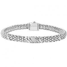LAGOS | Diamonds and Caviar Beaded Bracelet