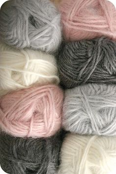 these colors look so soft and snuggly... so perfect for winter.