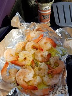 "Who doesn't love ""Shrimp on the Barbie""? Many people are intimidated when it comes to grilling shrimp or seafood on the grill, but you really shouldn't be. Grilling Shrimp o… Tailgate Drinks, Tailgating Recipes, Shrimp On The Barbie, Firecracker Shrimp, Grilled Shrimp, Fish And Seafood, Outdoor Cooking, Grilling, Dishes"