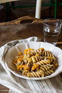Pasta Ragù Bianco e Zucca