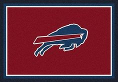 Buffalo Bills Team Spirit Rug Buffalo Bills