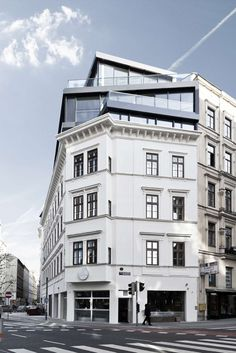 Renovation and heightening Margaretenstraße 9