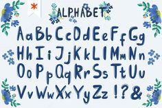 Alphabet+ by marushabelle on Creative Market