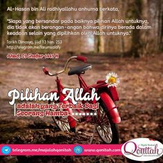 "Galeri Salafy on Instagram: ""#pilihanallah #terbaik #ilmuagama #ilmuagamaislam  #salaf #salafy #salafi #salafiyyah #salafiyyin #dakwah #dakwahislam #sunnah…"" Islamic Quotes, Religion, Faith, Deen, Allah, Muslim, Life, Instagram, God"