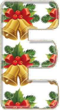Armored by God: Decorative Christmas Alphabet PNG We Heart It Christmas, True Meaning Of Christmas, Christmas Bells, Christmas Alphabet, Christmas Ornament Crafts, Free Valentine Clip Art, Monogramm Alphabet, Diy And Crafts, Paper Crafts