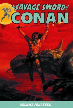 The Savage Sword of Conan #TPB Vol 14 #DarkHorse #TheSavageSwordOfConan (Cover Artist: Doug Beekman) On Sale: 8/21/2013
