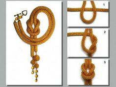 Bead Crochet Lariats:  DIY for Weaving various knots