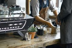 at Lot Sixty One Coffee Roasters in Amsterdam (read the story on Best Wishes Magazine)