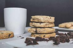Spiced Shortbread Cookies with Dark Chocolate