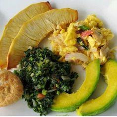 Jamaican Breakfast.
