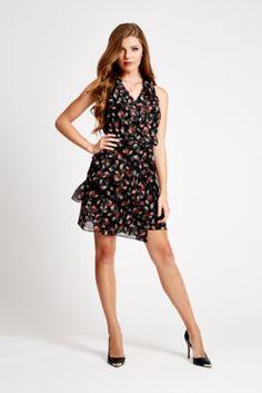 Bothild Wrap Dress | GUESS.com