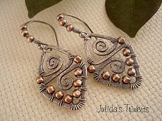 Aztecs---Sterling Silver/Copper from julidadesigns