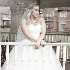 d749fc8d5aeb Stunning real bride Lucy looks amazing in 'Velez' <3 This beautiful  ballgown
