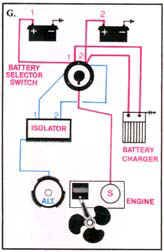 3 wire marine alternator wiring diagram images wiring diagram for blue sea add a battery switch acr combo