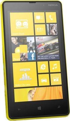 Yellow Nokia Lumia 820
