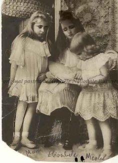 BU-F-01073-5-02316 Principesa Marioara, principesa Elisabeta, principele Nicolae, 1908 (niv.Document) Romanian Royal Family, Royal Weddings, Ferdinand, Eastern Europe, Descendants, Queen Anne, Princesses, Amen, Royalty