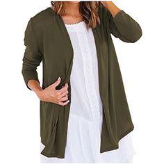 Zimaes-Women Long-Sleeve Slim Fitting Lightweight Cardi Hoodies Sweater