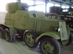 The BA-3 (Russian: Broneavtomobil 3) was a heavy armored car developed in the Soviet Union in 1933