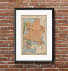 Old Map of Eastern Europe includes Scandinavia and The Balkan states by TheVintageMapStore $3.99 Digital Download