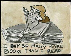 I will eventually read them! lol