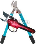 Vineyard Electrtic E-Pruner and 24 x MV20 Vine and Light Tree Loppers