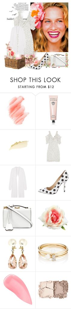 """""""One Summer's day..."""" by sue-mes ❤ liked on Polyvore featuring Bela, Birchrose + Co., Bobbi Brown Cosmetics, McQ by Alexander McQueen, Narciso Rodriguez, Oscar de la Renta, Mark Cross, Valentin Magro, Loren Stewart and Kevyn Aucoin"""