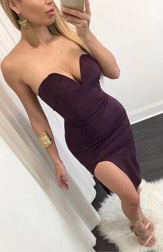 Bustier Midi Dress ❤️
