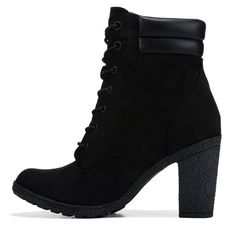 Thigh High Boots Flat, Wide Calf Boots, Knee Boots, Heeled Boots, Bootie Boots, Timbaland Shoes, Timberland Heels, Timberland Outfits, Timberland Fashion
